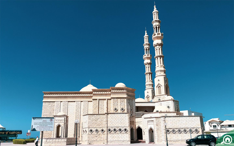 Mosque in Ajman Corniche