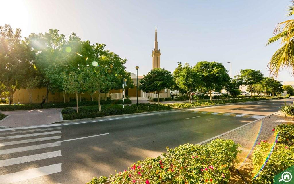 مسجد في الريف ابوظبي