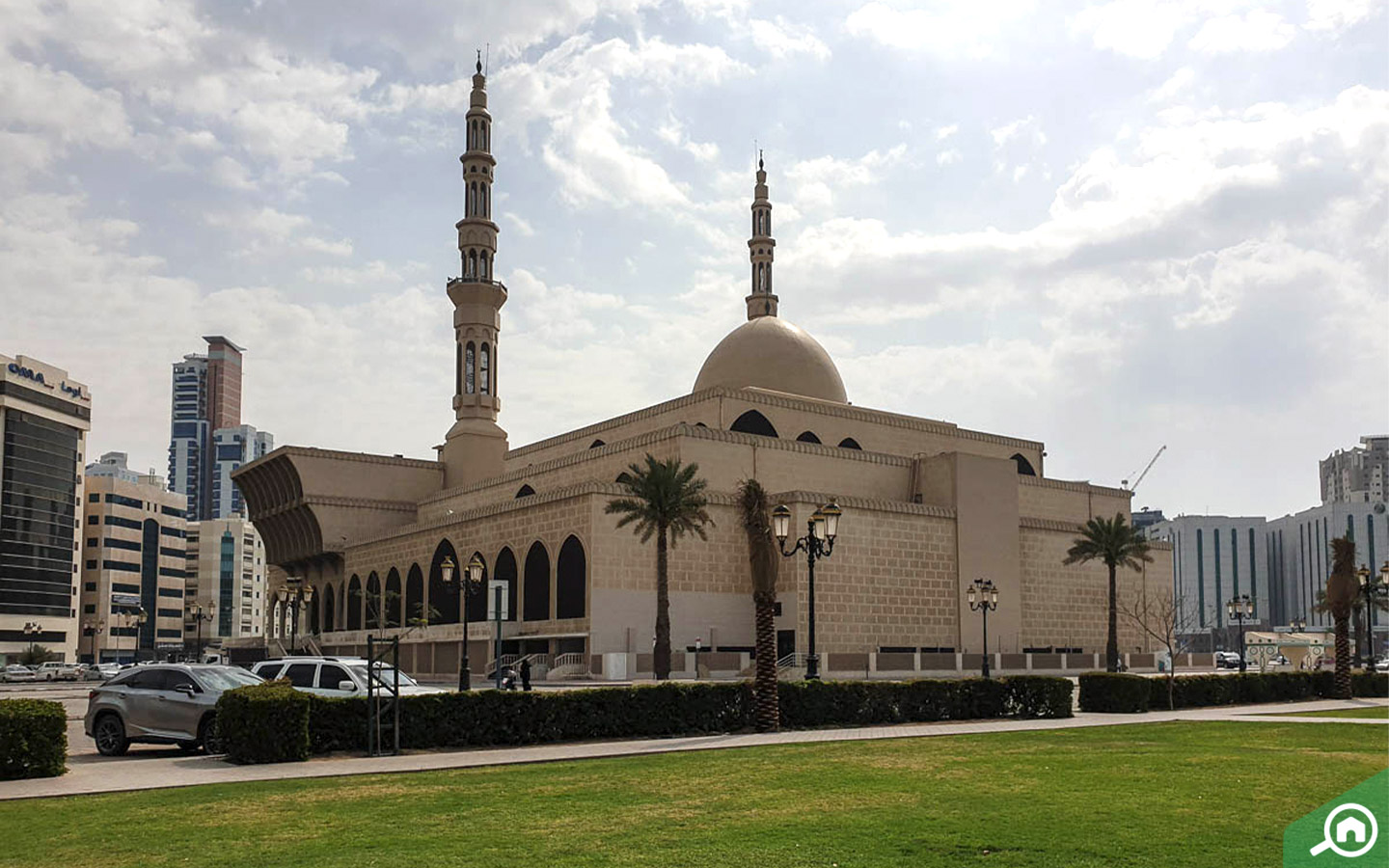 King Faisal Mosque in Al Qasimia