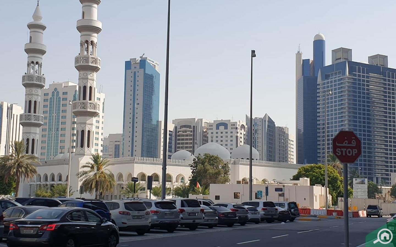 Sheikh Khalifa Bin Zayed Mosque Corniche Road