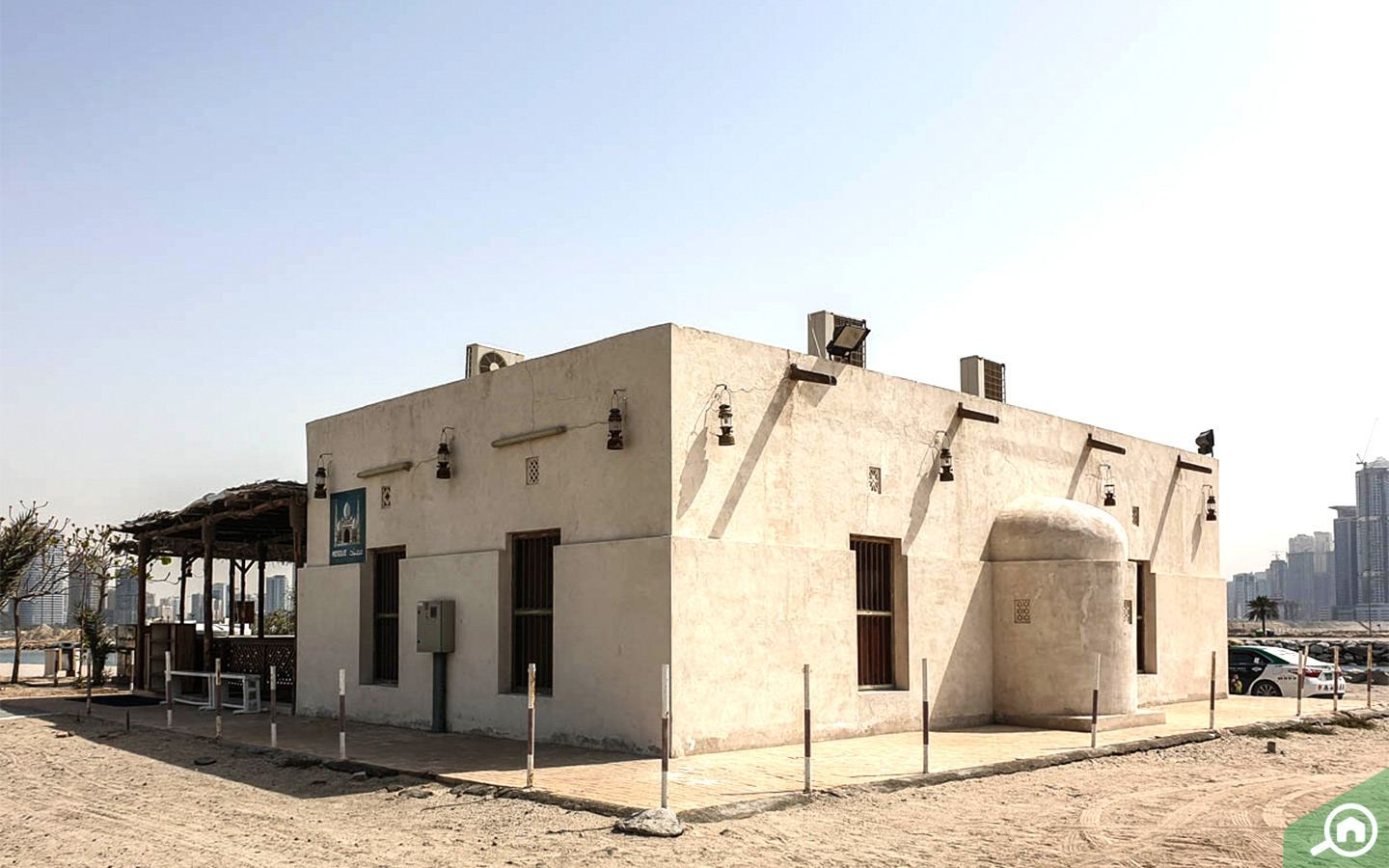 Salamah Ibn Al Akwa Mosque in al khan