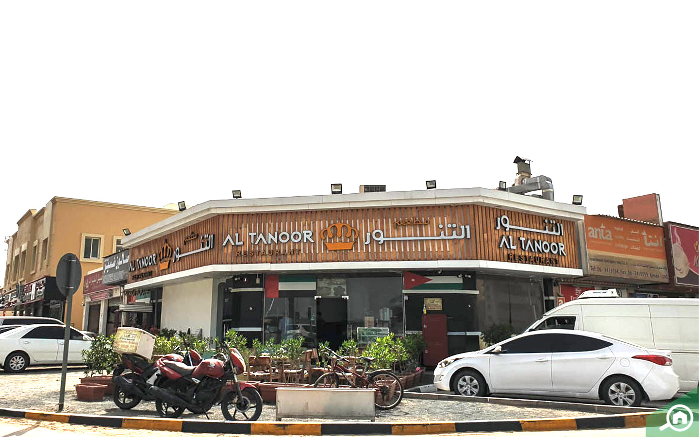 Tanoor restaurant in ajman downtown