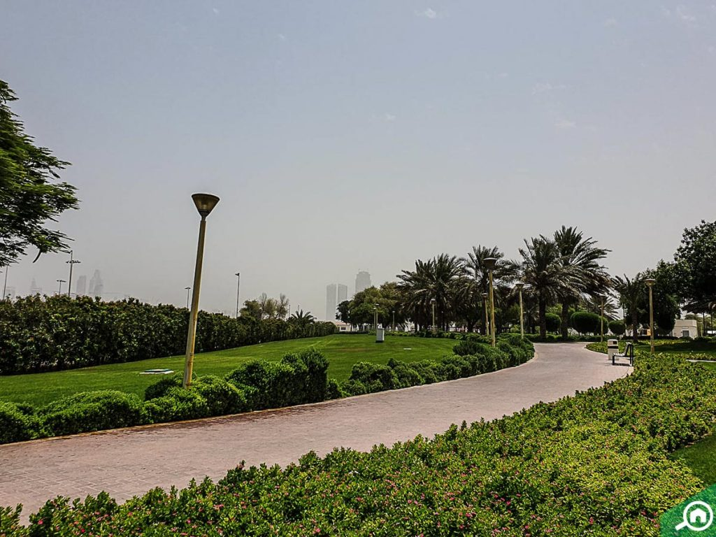 al quoz pond park near mbr city
