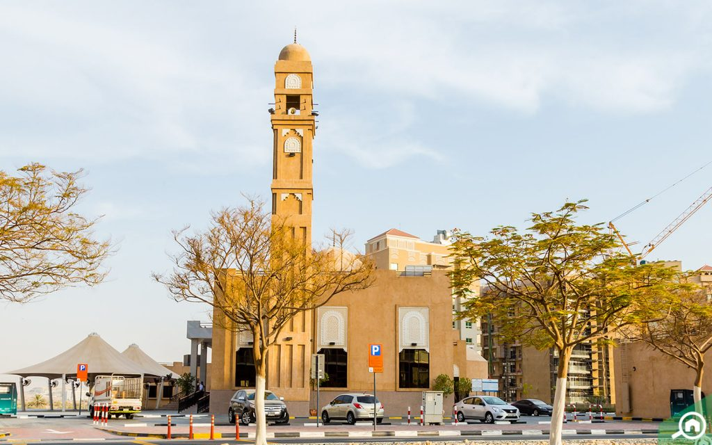 مسجد في واحة السيليكون دبي
