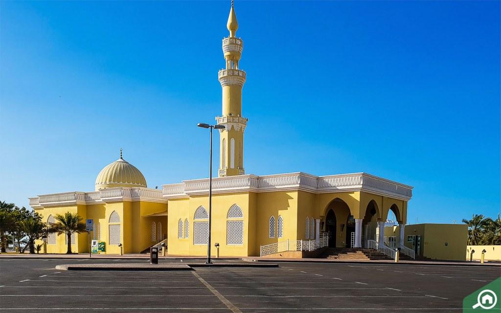mosque in al mamzar dubai