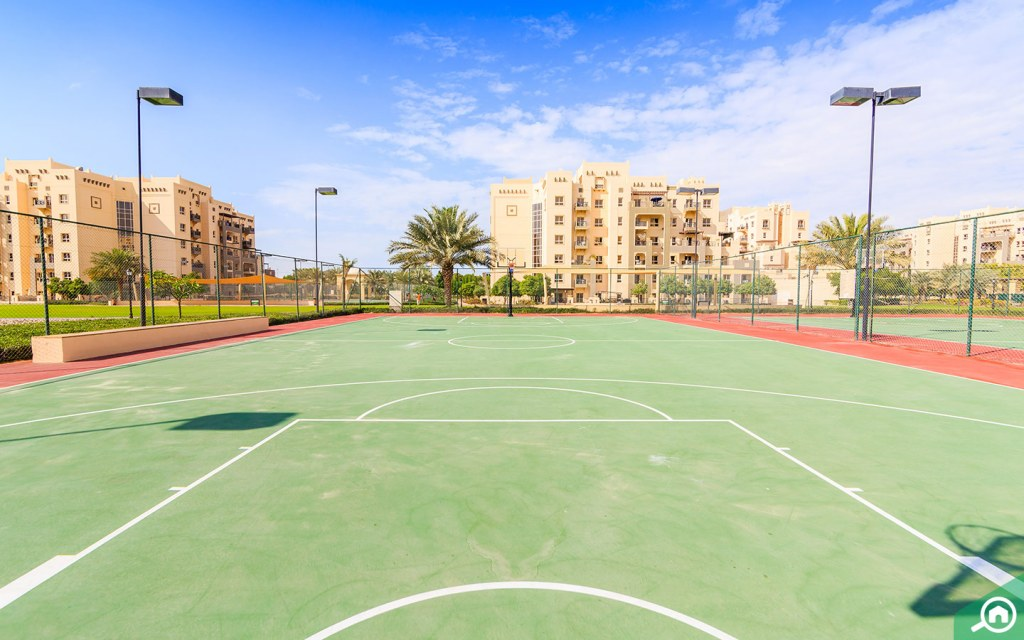 sports courts in remraam