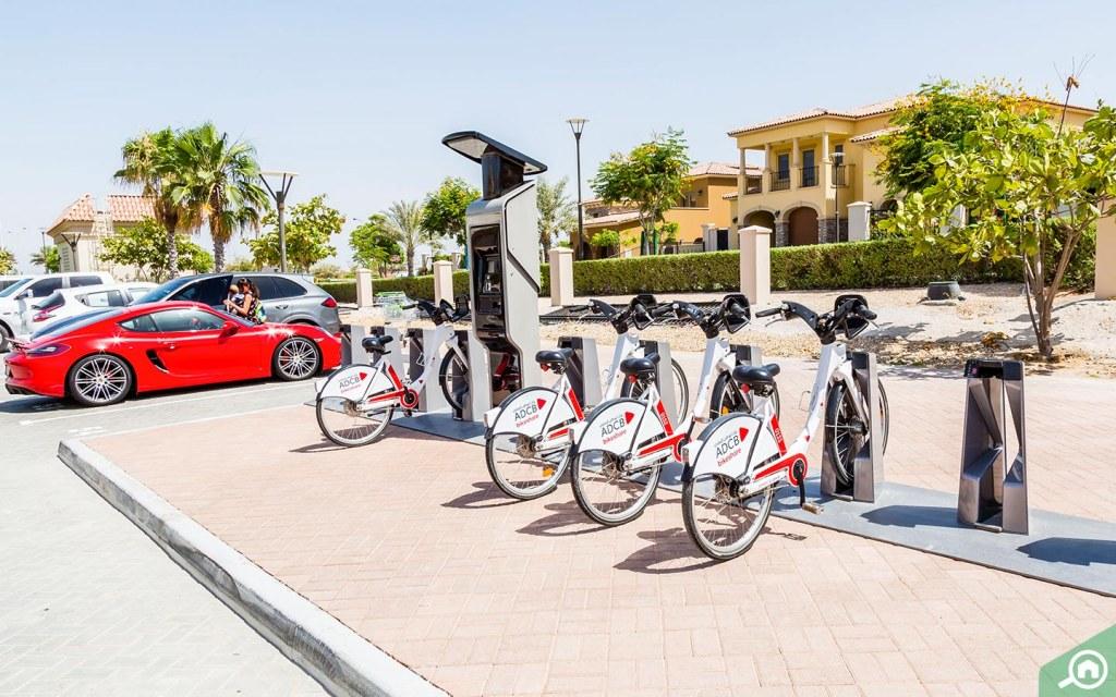 أماكن ركوب الدراجات في جزيرة السعديات