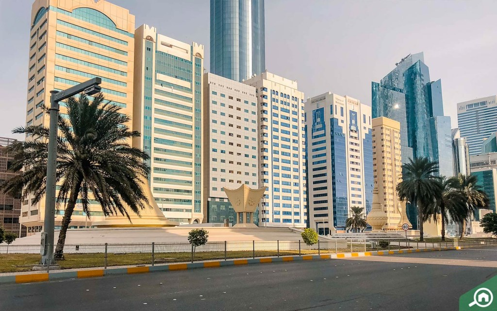 Al Ittihad Square near Tourist Club Area.