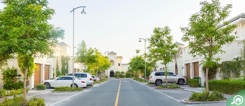 Sign board welcoming visitors to Al Maryah Island