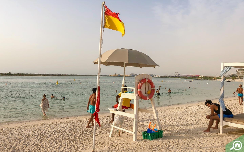 Yas Beach near Al Bahia