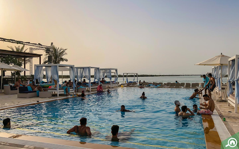 swimming pools near Al Bahia