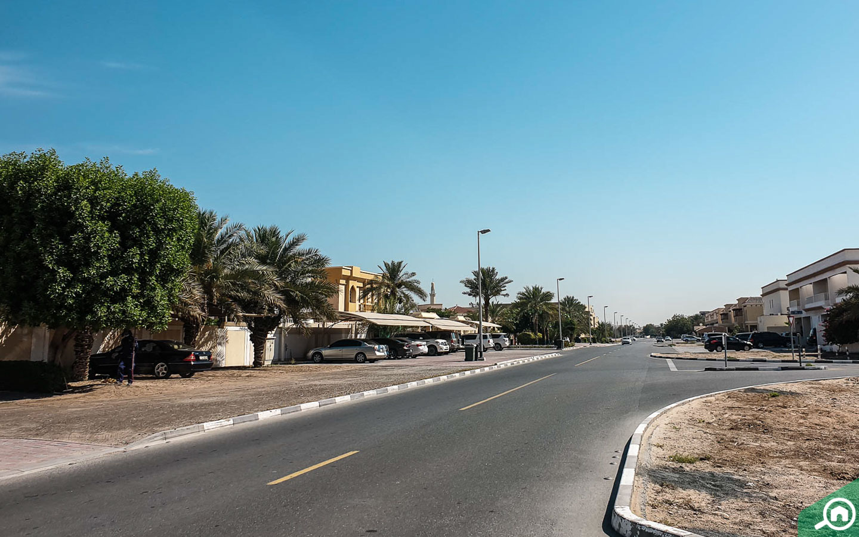 Parking spaces in Wadi Al Safa 2