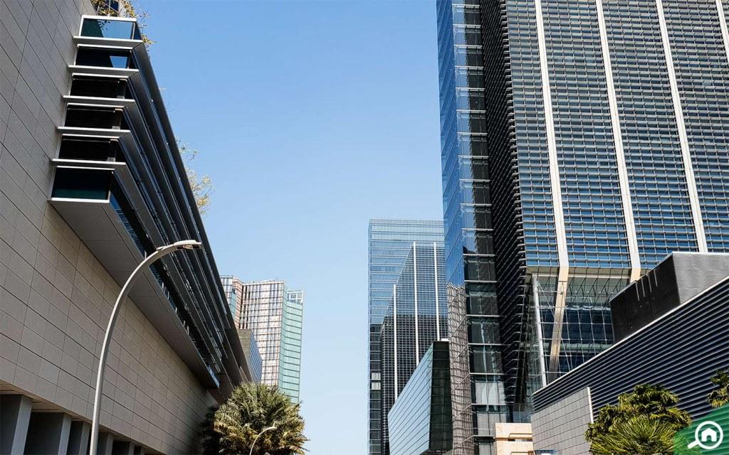 Towers in Al Maryah Island