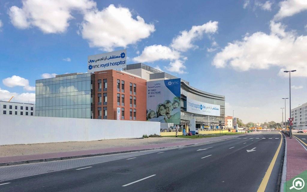 Dubai Industrial Park nearby hospital