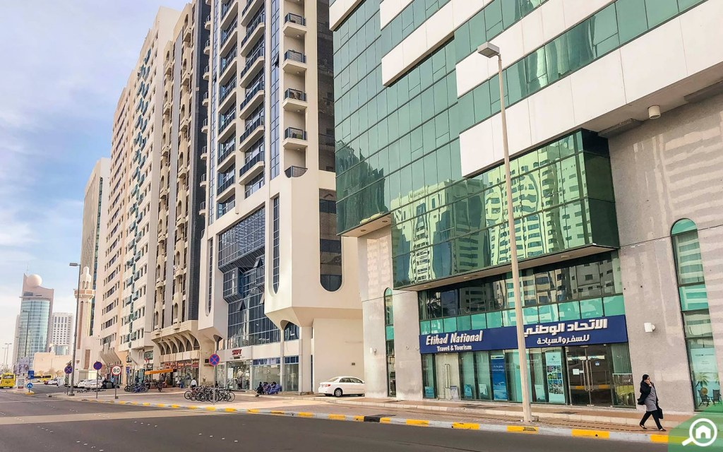 residential buildings in Tourist Club Area