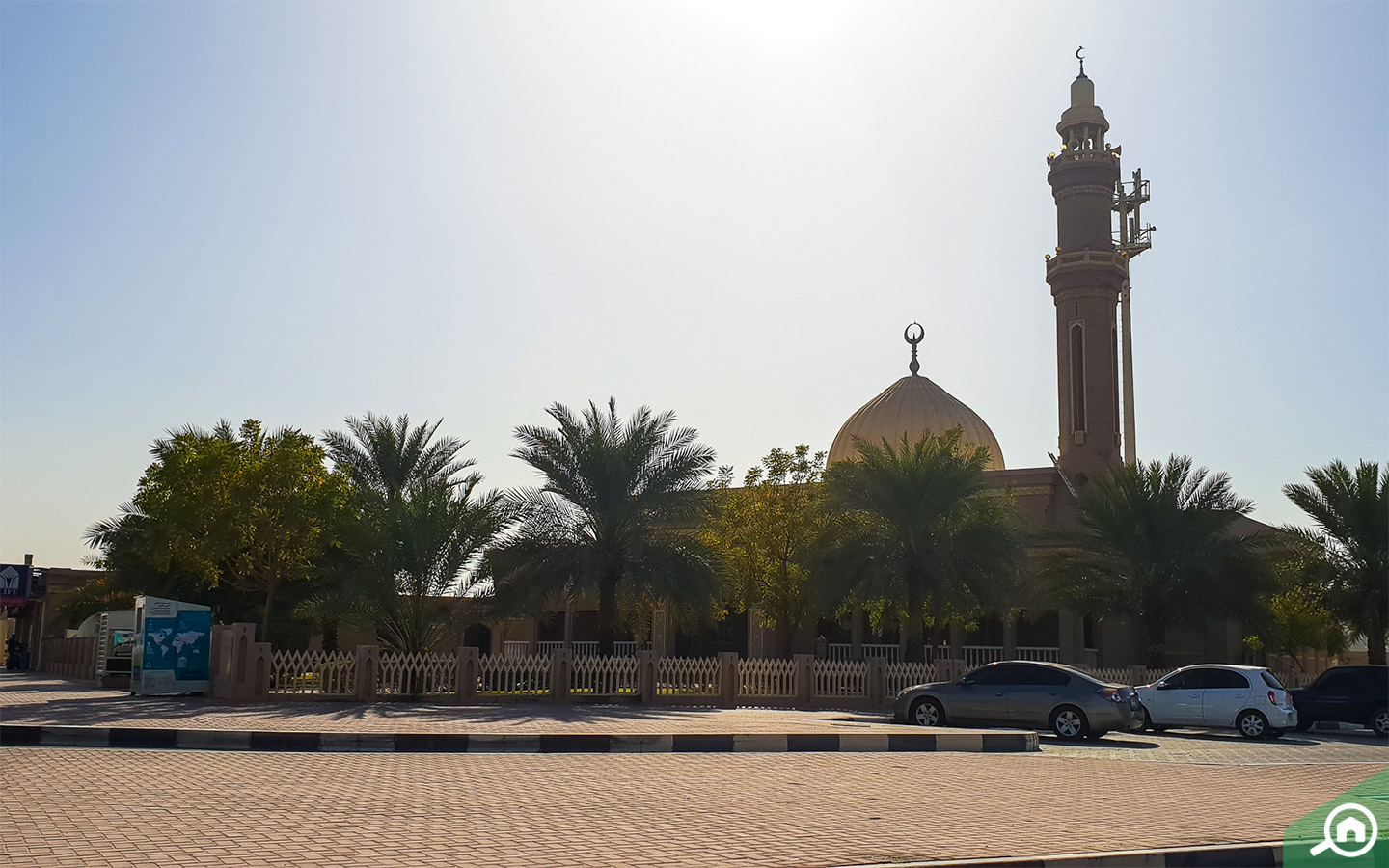 Mosque in Nad Al Hamar