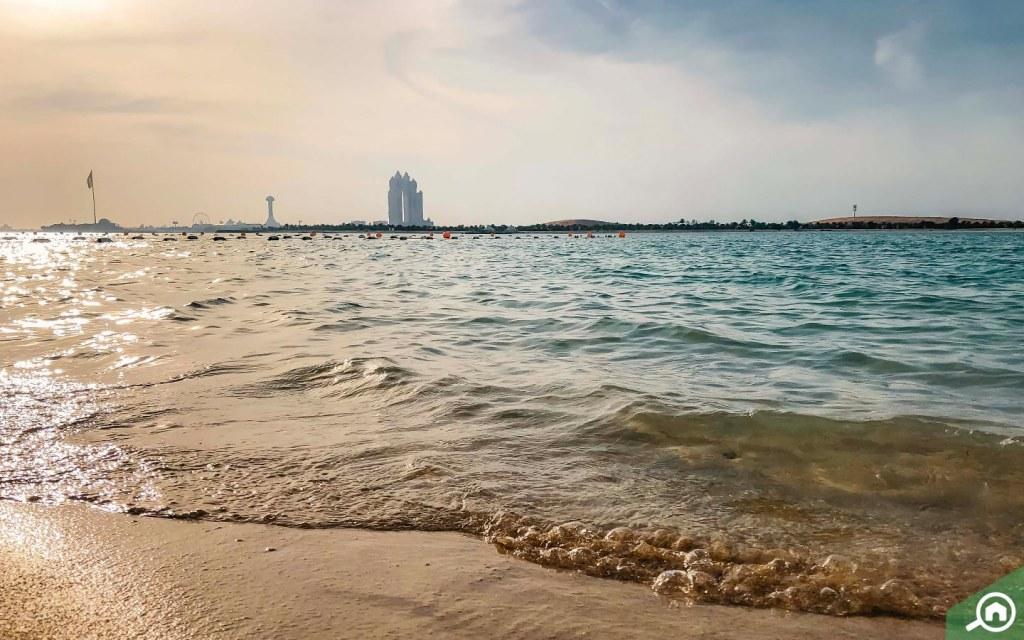 Abu Dhabi Beach near Tourist Club Area