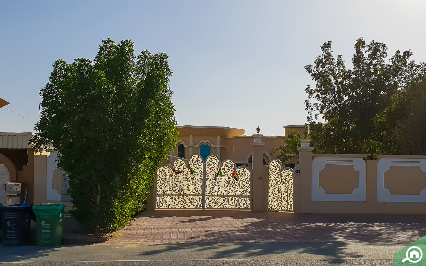 Nad Al Hamar villa features
