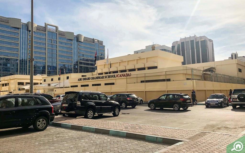 Abu Dhabi Grammar School (Canada) in Tourist Club Area.