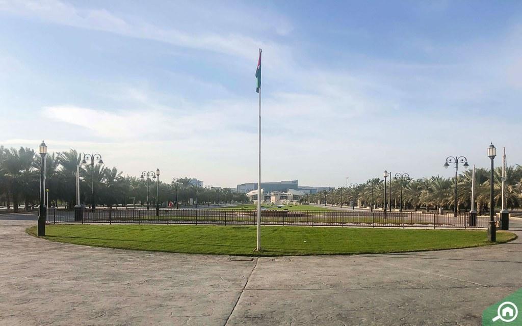 Khalifa Park on Al Salam Street.