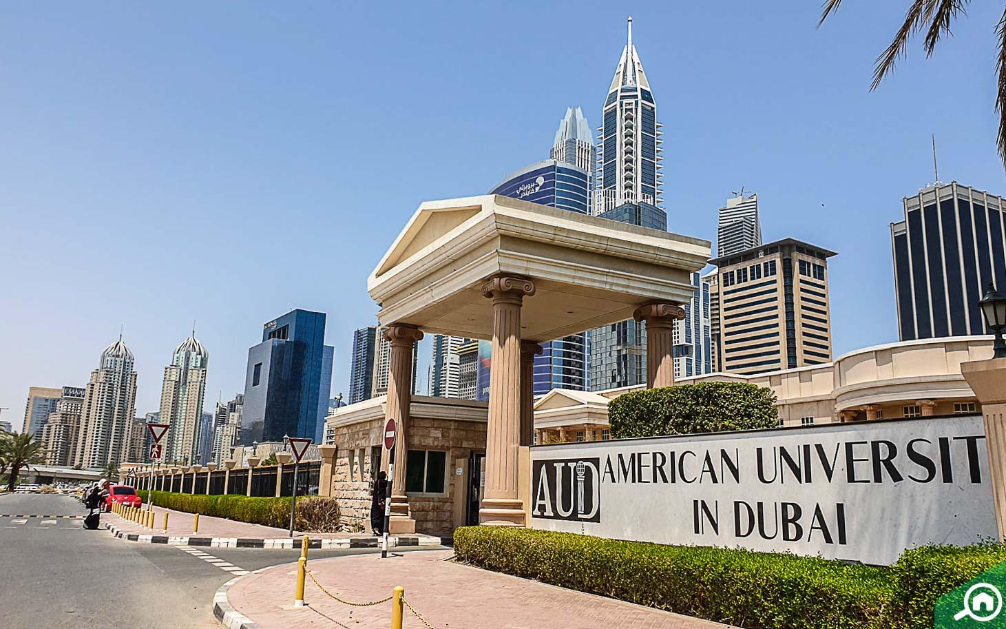 american university in dubai internet city
