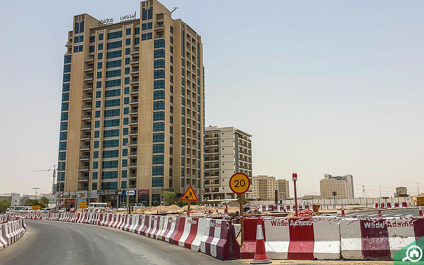 hotel apartments in Dubai Residency Complex