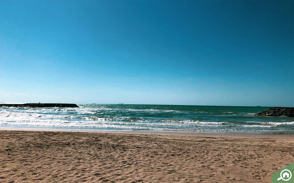 beach near ajman uptown