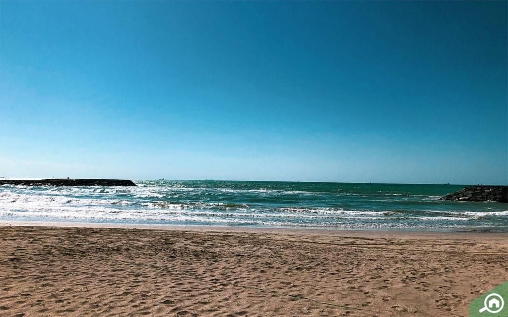 Ajman beach near Al Sabkha