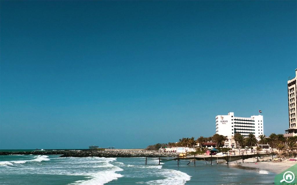 Beach near Ajman Corniche