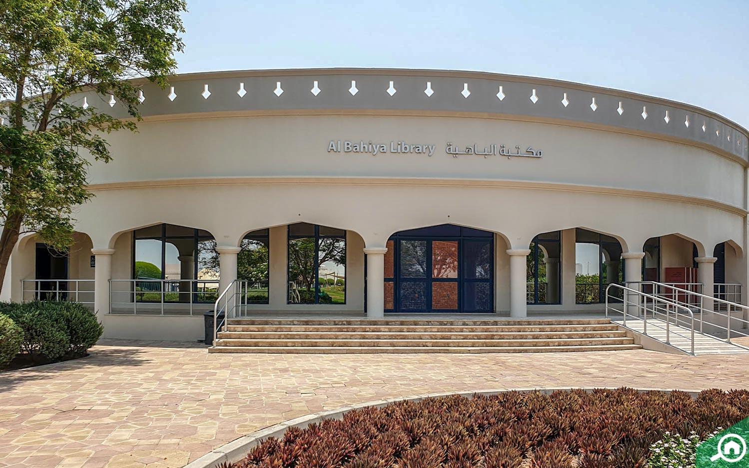 Al Bahiya Library in Al Bahia