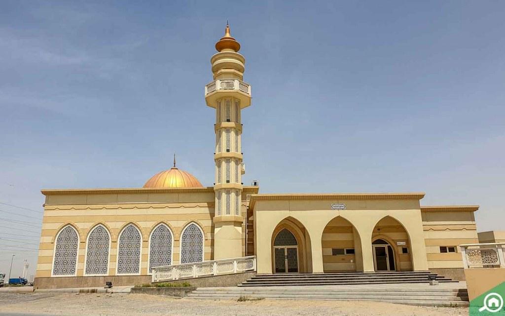 Al Baseera Mosque in Emirates Industrial City