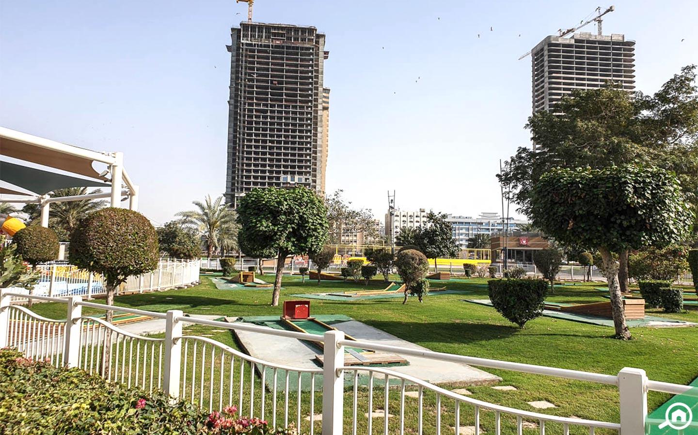 Al Majaz Park near Abu Shagara