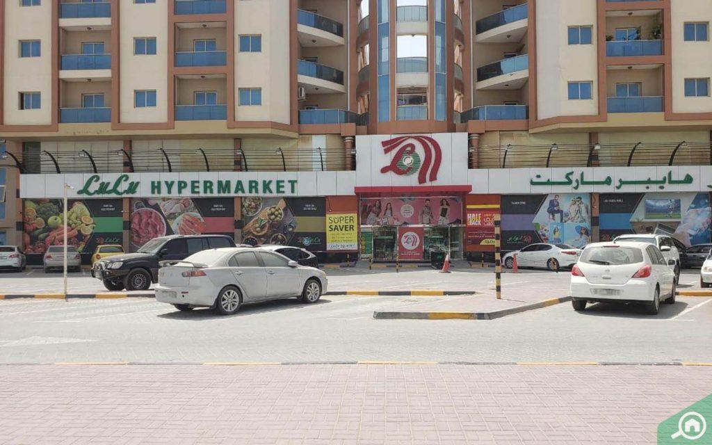 Lulu Hypermarket in Al Mowaihat
