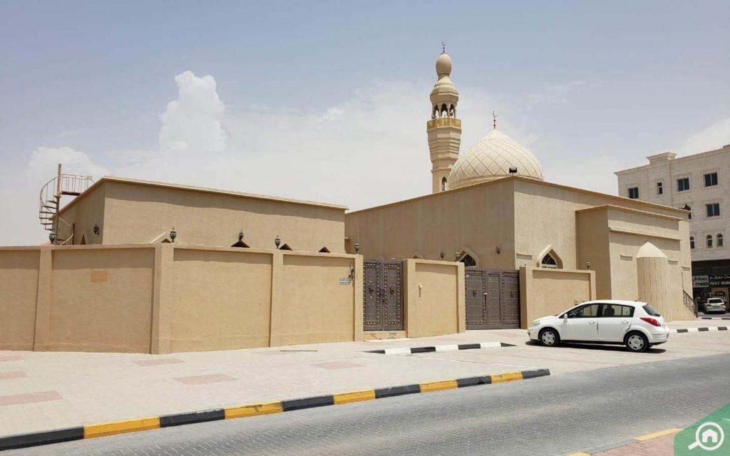 Mosque in Al Mowaihat