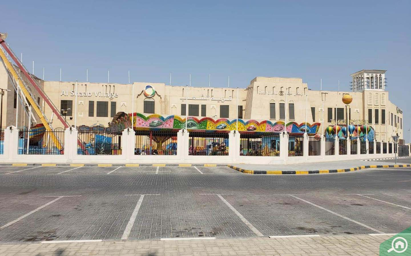 Theme park in Al Shaab Village near Al Sabkha