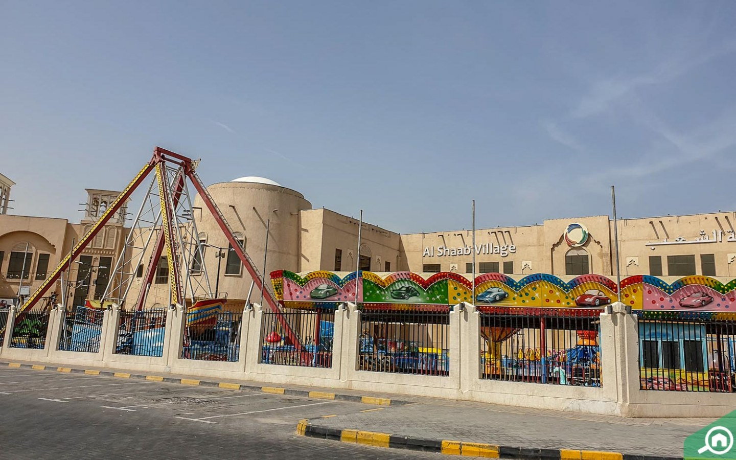 Al Shaab Village in Al Sabkha