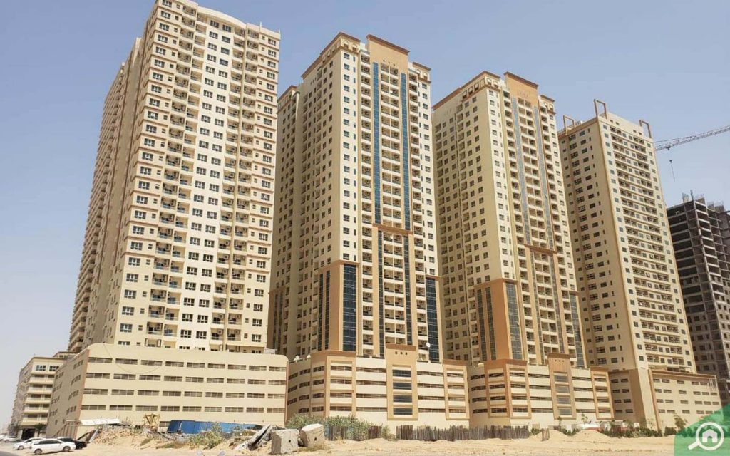 Buildings in Emirates City Ajman