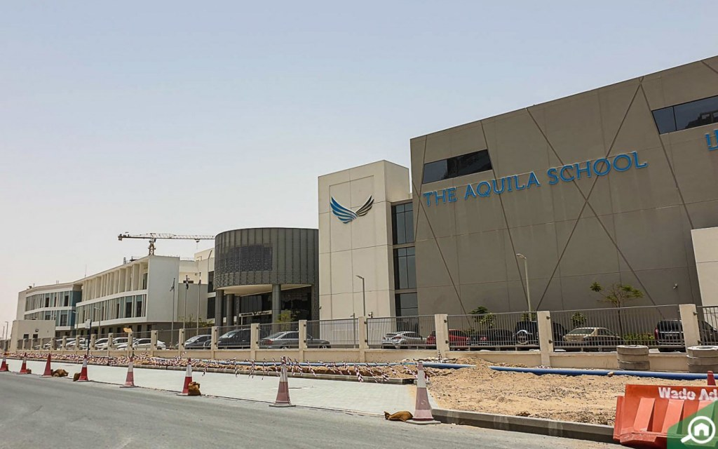school in Dubai Residence Complex