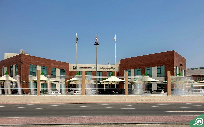 Aspen heights british school in al bahia