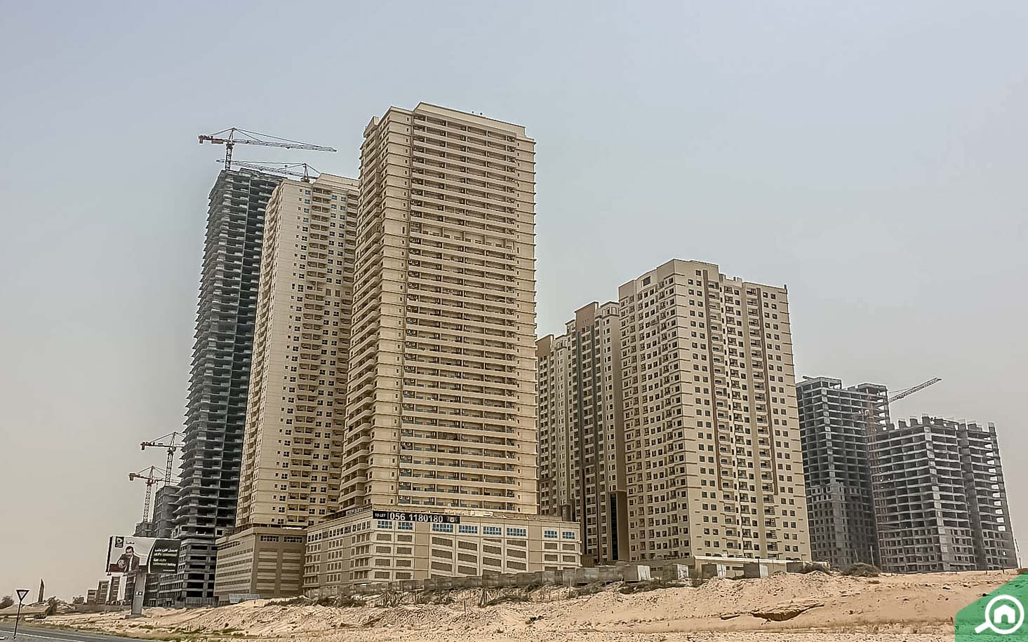 apartments in ajman uptown
