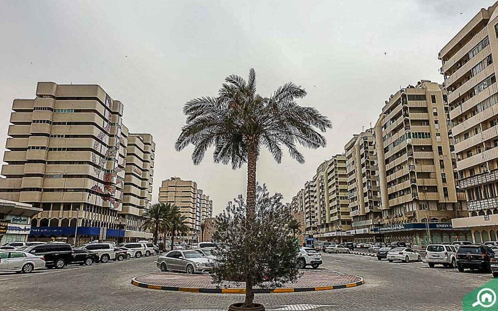 Parking in Al Shuwaihean