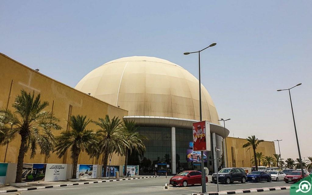 mall near Dubai Residence Complex