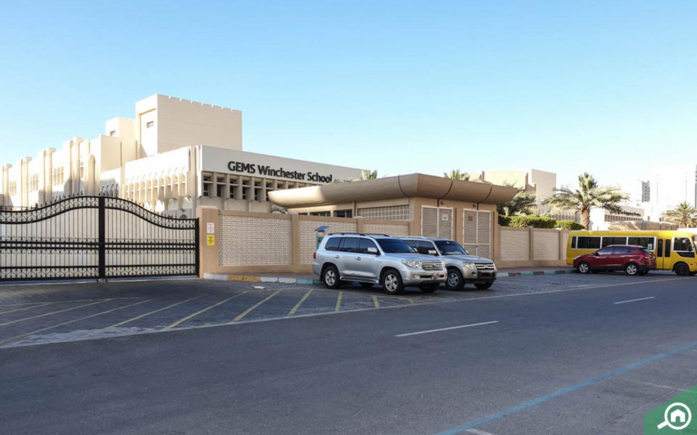 Gems Winchester School near Al Maryah Island