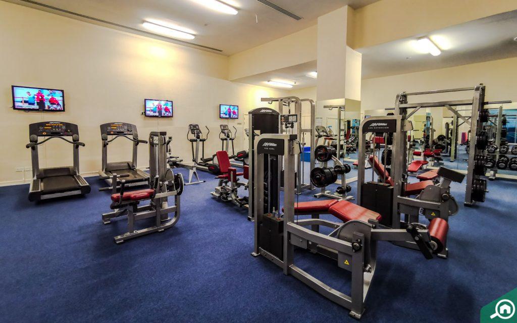 Gym near Arjan