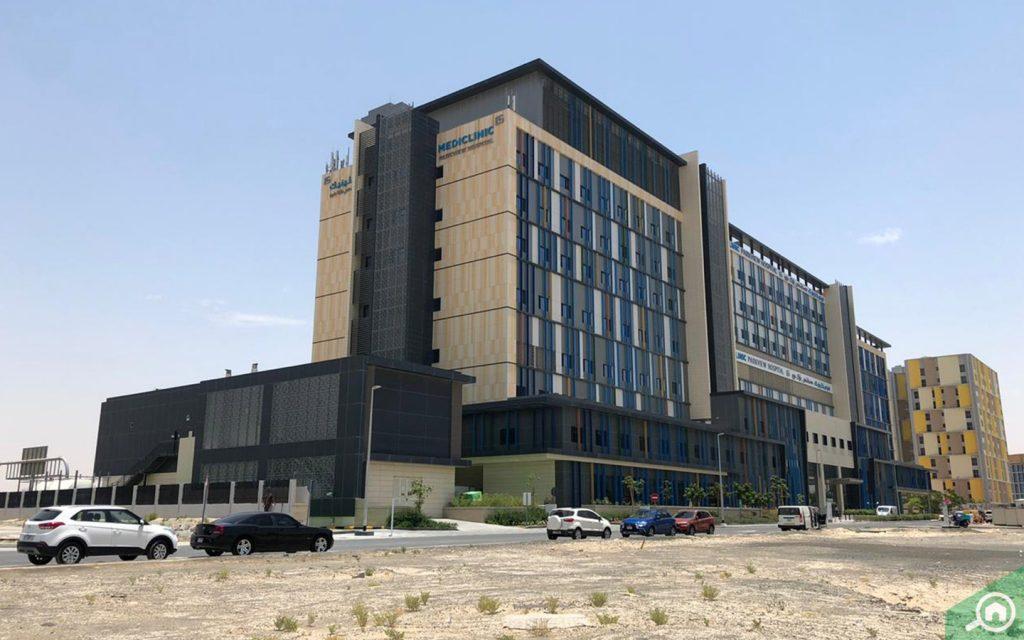 Hospital in Arjan