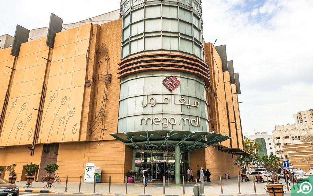 Mega Mall near Abu Shagara