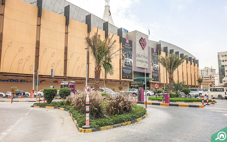 Mega Mall near Al Mahatah