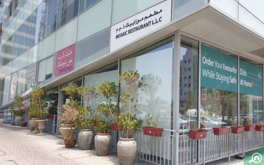 Restaurant in Danet Abu Dhabi