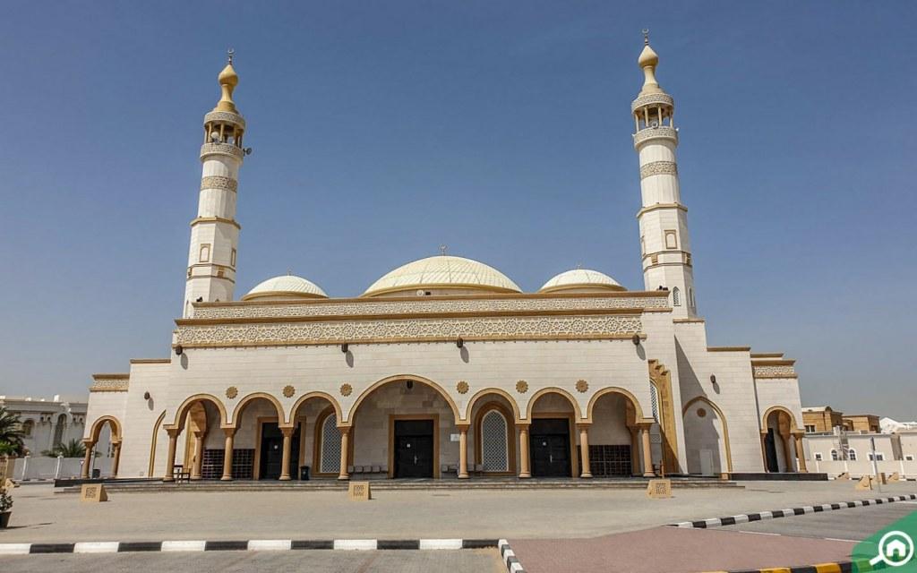 mosques in Al Gharayen