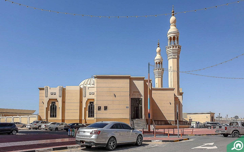 مسجد في جاردن سيتي